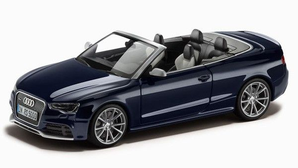 1:43 - RS5 Cabrio 1:43, Синий (Estoril Blue)